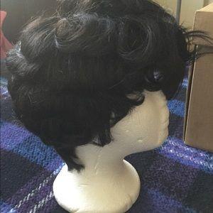Human hair bump wig